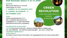 Con Green Revolution due campus estivi per ragazzi/e ad agosto