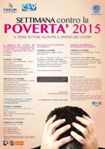 settimana contro la povertà